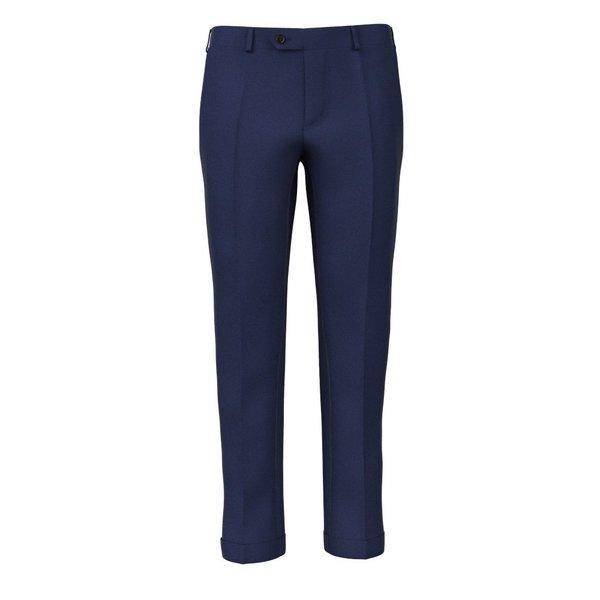 Pantaloni Traveller Blu 3-ply Tessuto prodotto da  Tallia di Delfino