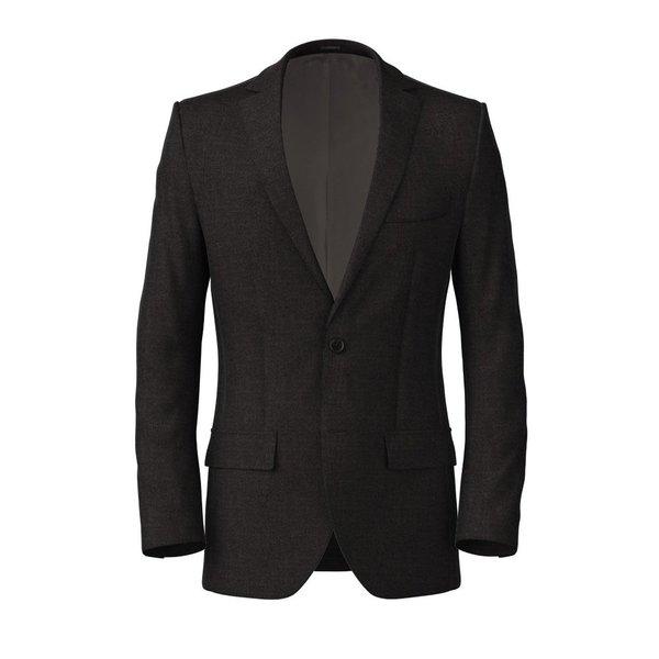 Metropolis Grey Sharkskin Jacket Fabric produced by  Vitale Barberis Canonico