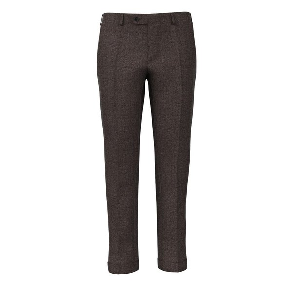Pantaloni Marroni Tessuto prodotto da  Vitale Barberis Canonico