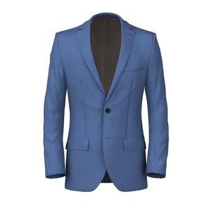 Light Blue Napoli Jacket Fabric produced by  Vitale Barberis Canonico