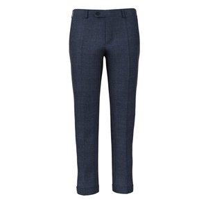 Pantaloni Blu Notte Microdesign Tessuto prodotto da  Vitale Barberis Canonico