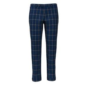 Pantaloni Blu Grigi Finestrati Tessuto prodotto da  Vitale Barberis Canonico