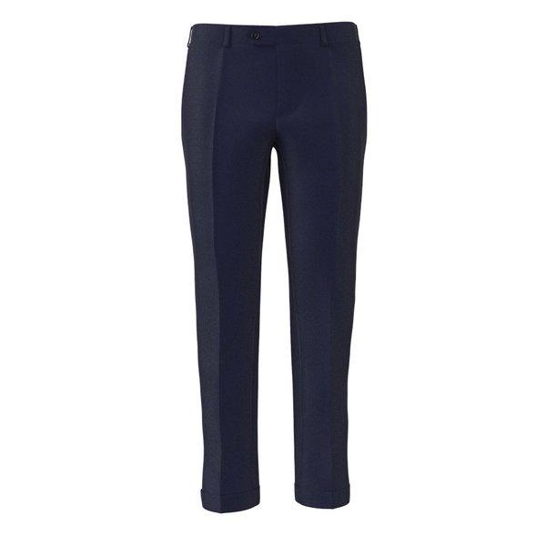 Pantalon Bleu Cobalt Tissu fabriqué par  Lanificio Ermenegildo Zegna