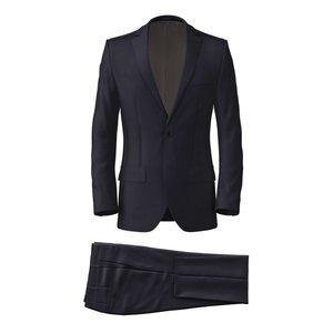 Costume Icon Bleu Nuit Tissu fabriqué par  Lanificio Ermenegildo Zegna