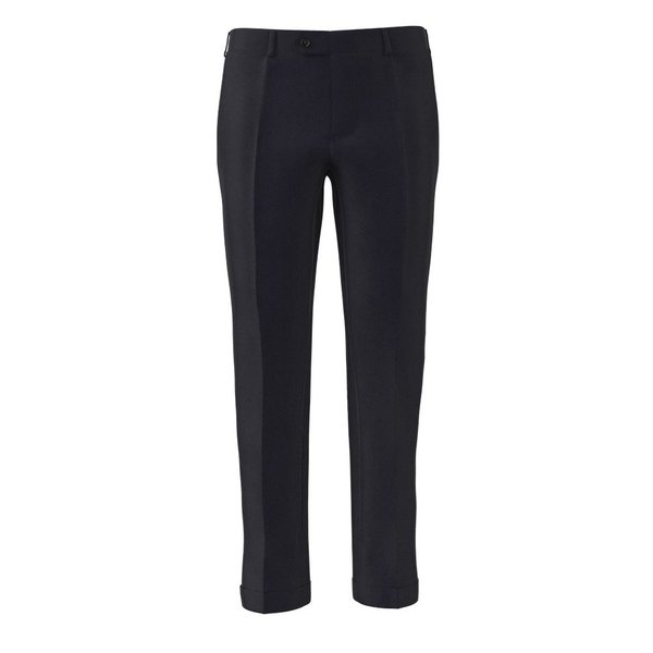 Icon Midnight Blue Trousers Fabric produced by  Lanificio Ermenegildo Zegna