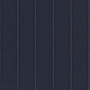 Abito Blu Notte Gessato Tessuto prodotto da  Lanificio Ermenegildo Zegna