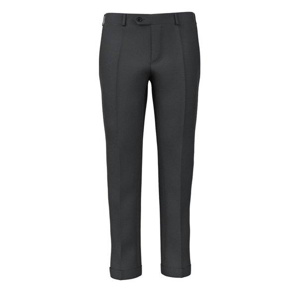Pantaloni Grigio Antracite Tessuto prodotto da  Lanificio Ermenegildo Zegna