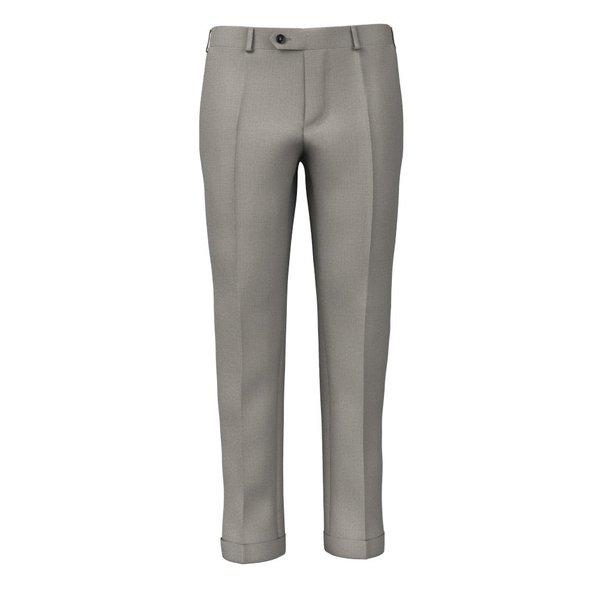 Pantaloni Fresco Grigi Tessuto prodotto da  Lanificio Ermenegildo Zegna