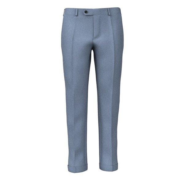 Pantaloni Azzurri Tessuto prodotto da  Lanificio Ermenegildo Zegna