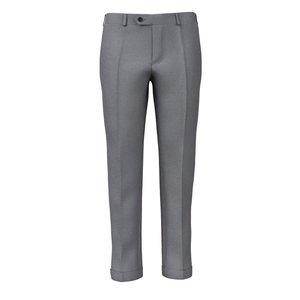 Pantaloni Antracite Tessuto prodotto da  Lanificio Zignone