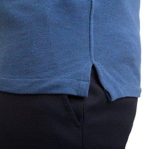 Polo Blu Polvere Tessuto prodotto da  Maglificio Maggia