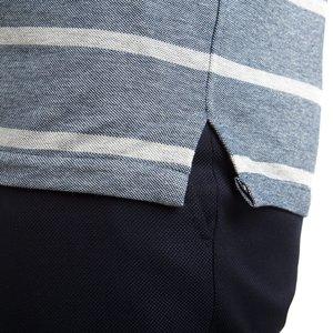 Polo Azzurra Rigata Tessuto prodotto da  Maglificio Maggia