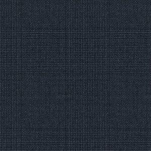 Giacca Blu Genova Principe di Galles Tessuto prodotto da  Loro Piana
