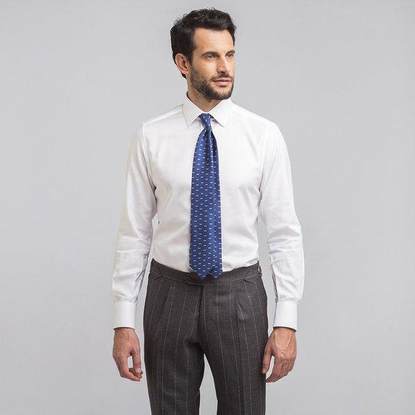 new product 9c09c 498c4 Camicia su Misura da Uomo Bianca King Oxford Cotone | Lanieri