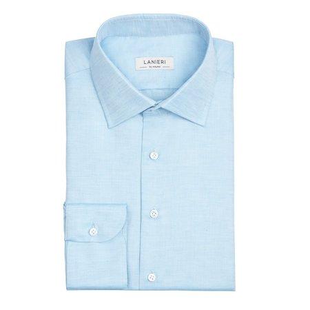 12186baa66c9b8 Camicie su misura in lino da uomo online - 100% Made in Italy | Lanieri
