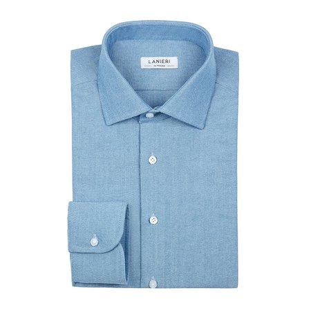selezione migliore 636be 47ffc Camicie da uomo in tessuto Albini - Su misura online   Lanieri