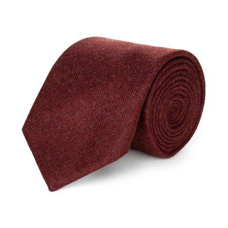 super speciali ultima moda qualità e quantità assicurate Cravatte rosse sartoriali su misura da uomo fatte a mano ...